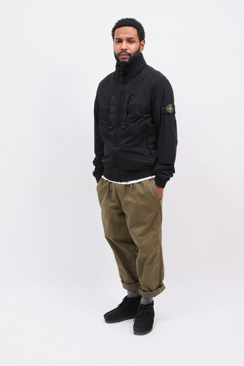 42631 nylon-tc jacket v0029 Nero