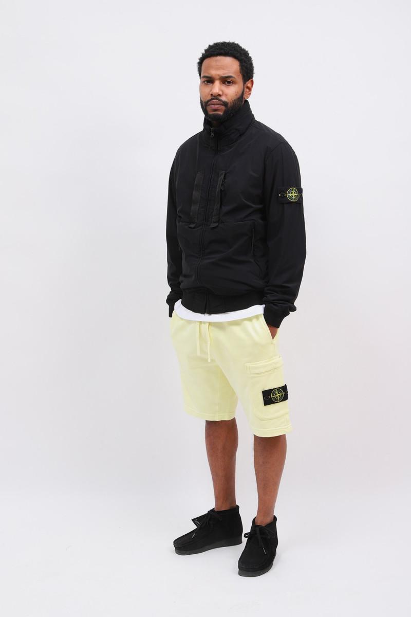 64651 fleece short v0031 Limone