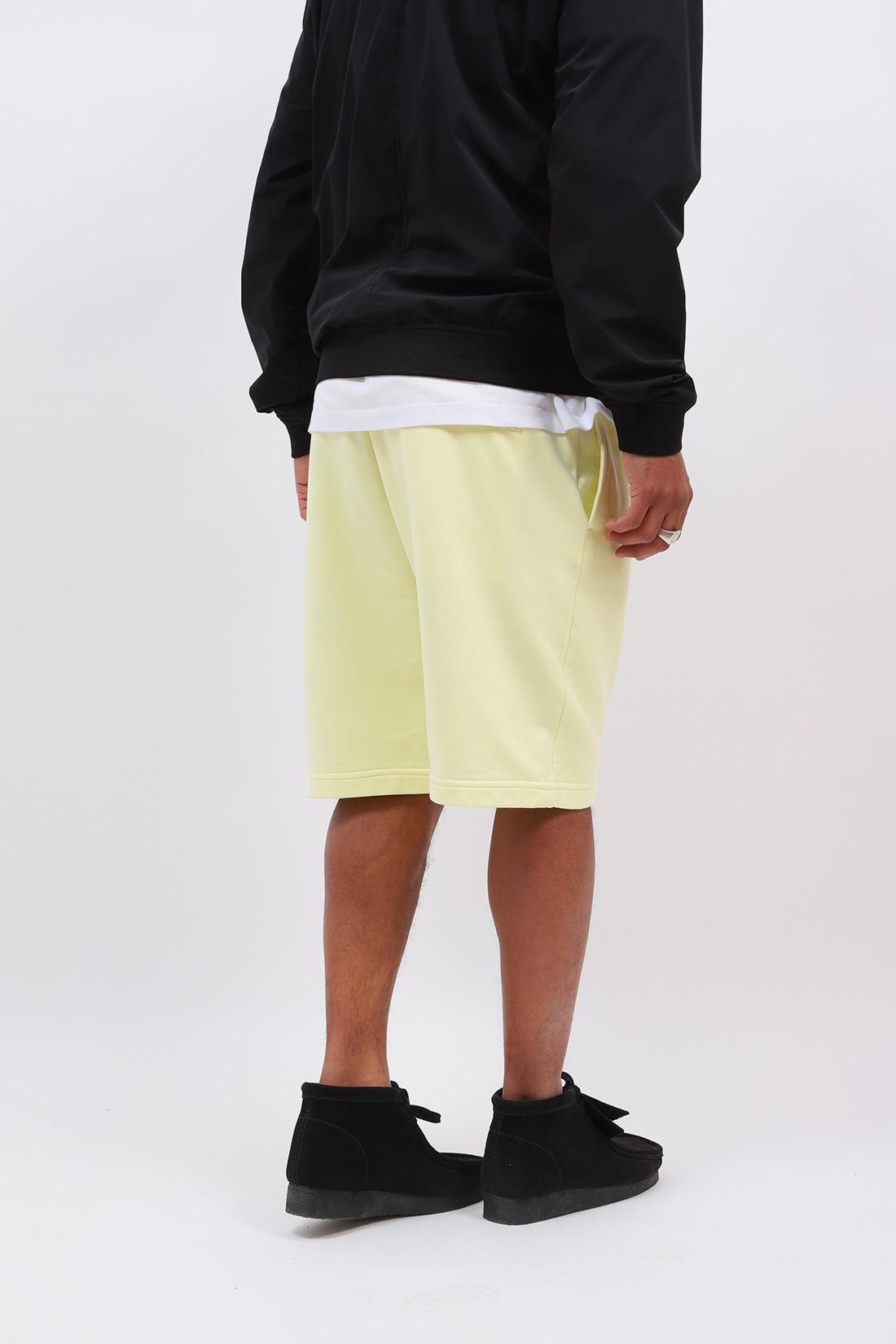 STONE ISLAND / 64651 fleece short v0031 Limone