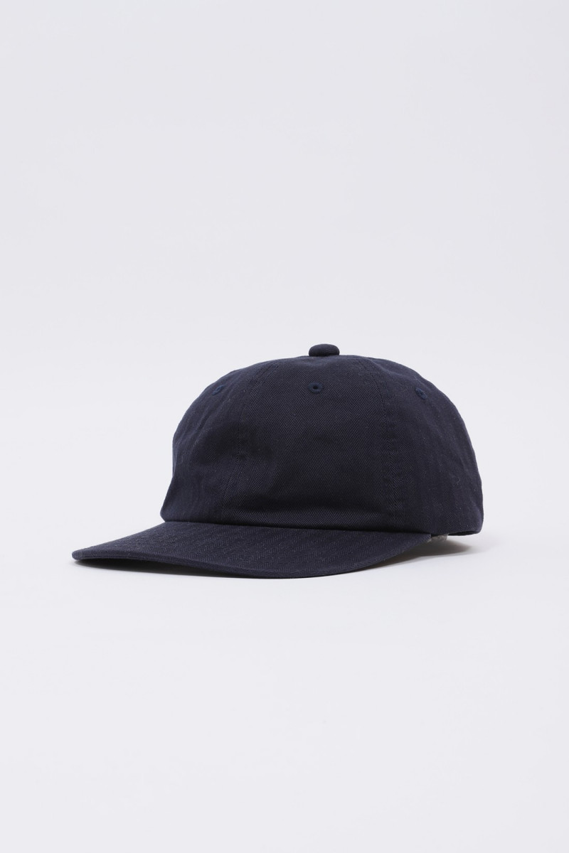 6 panel herringbone Navy