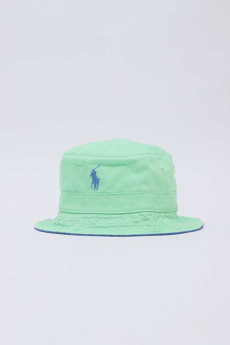 Loft bucket hat cotton chino Green