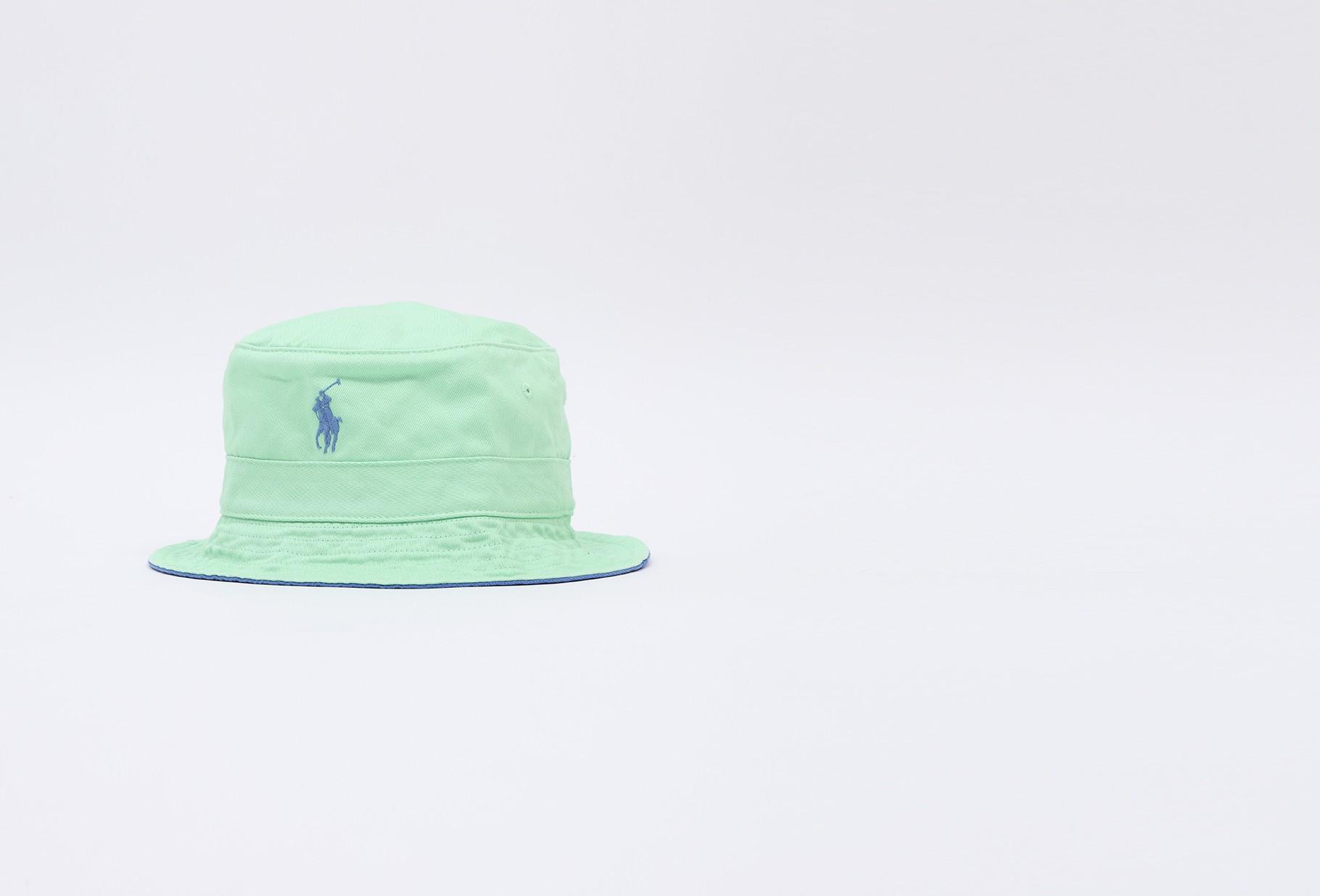POLO RALPH LAUREN / Loft bucket hat cotton chino Green