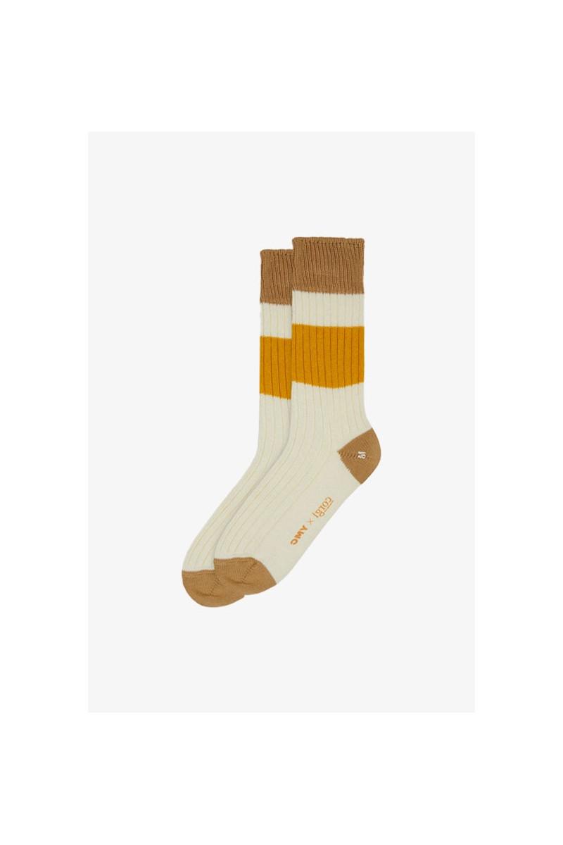 Sport cotton rib sport socks Ecru / sand