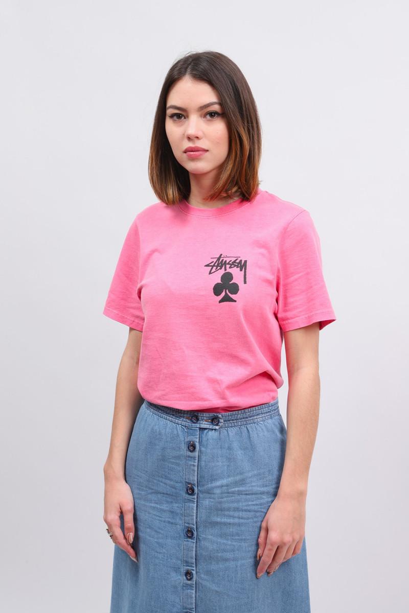 Club pig. dyed tee Pink