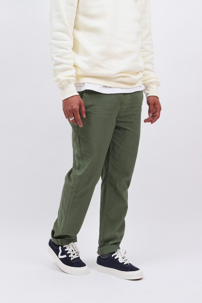 Draw light pant ripstop Army green