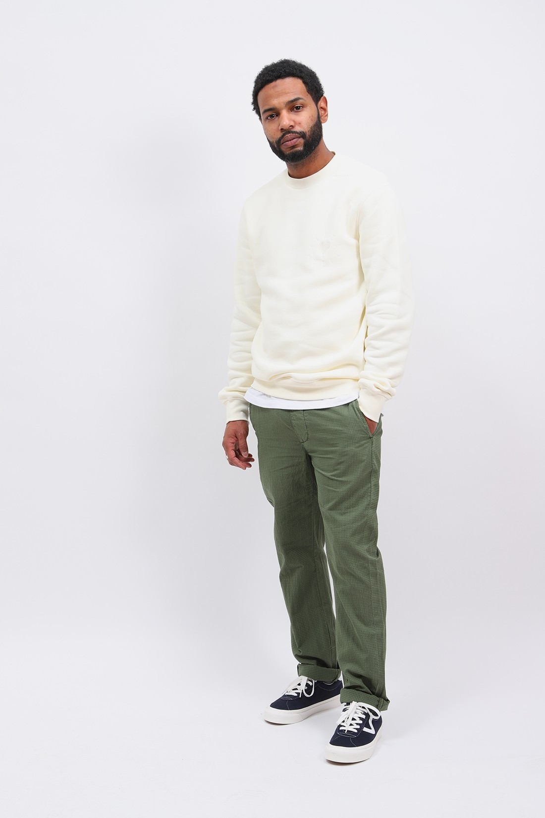 HOMECORE / Draw light pant ripstop Army green