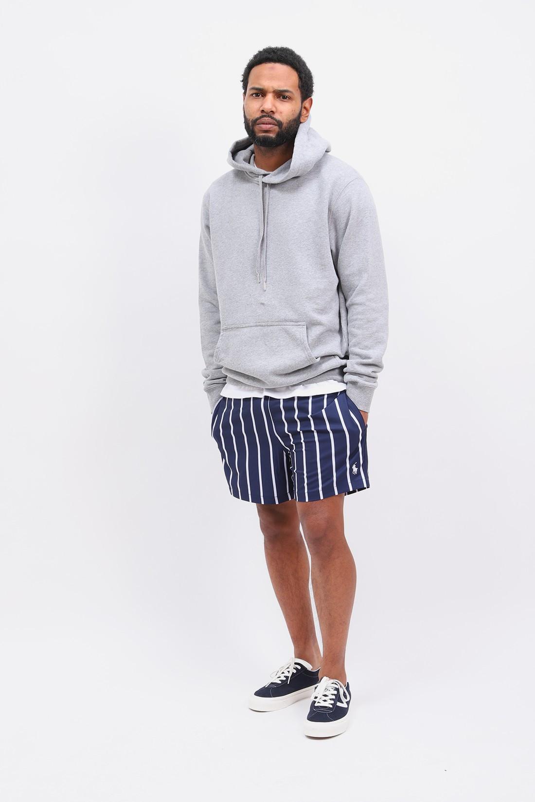 POLO RALPH LAUREN / Traveler swim short stripe Navy