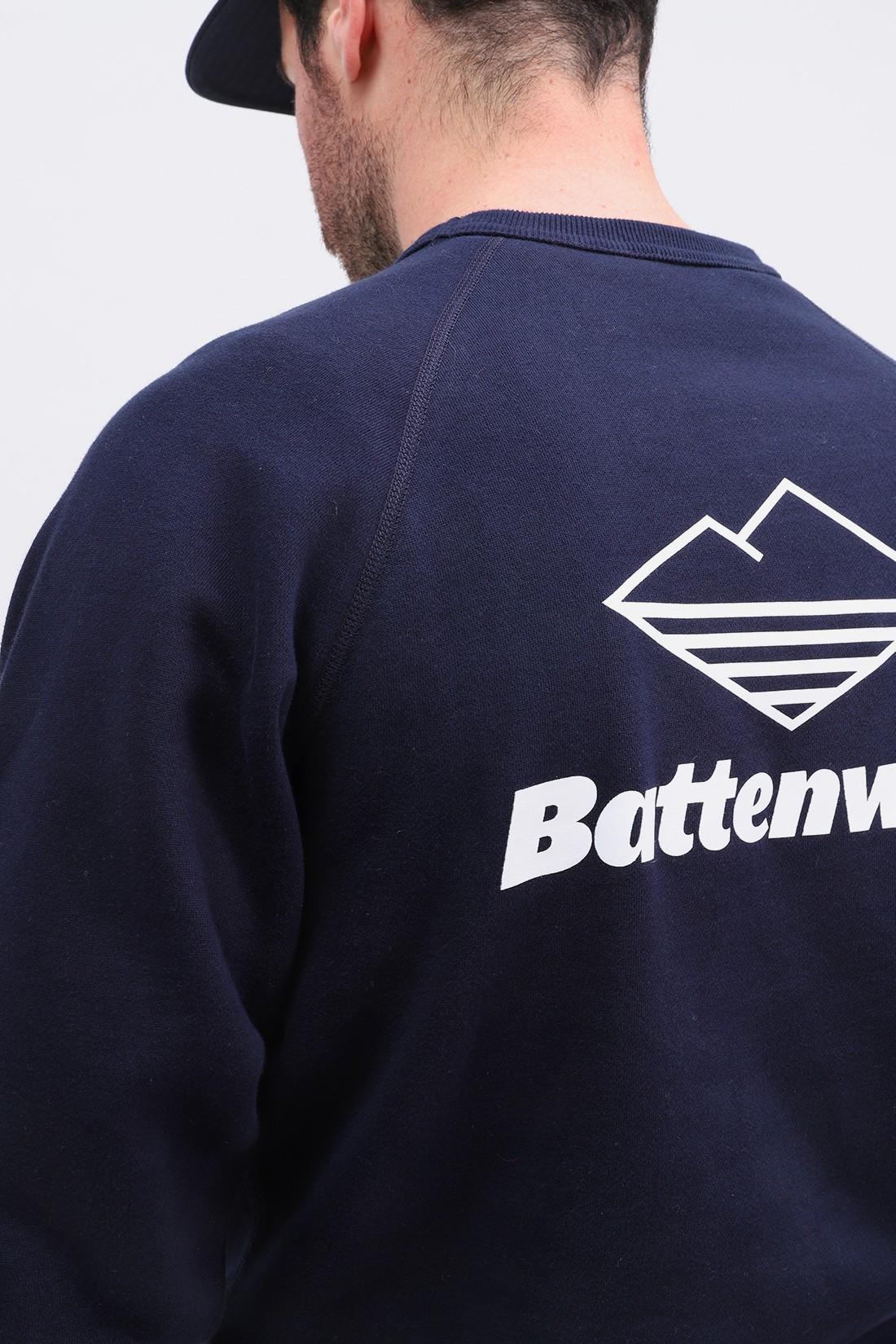 BATTENWEAR / Team reach up sweatshirt Midnight navy