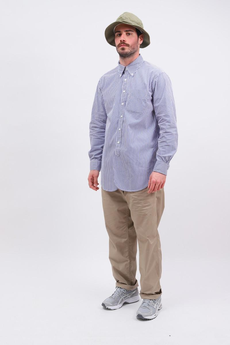 19 century bd shirt stripe Blue/white