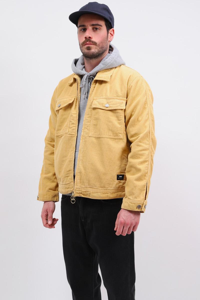 Sten zip jacket corduroy Curry