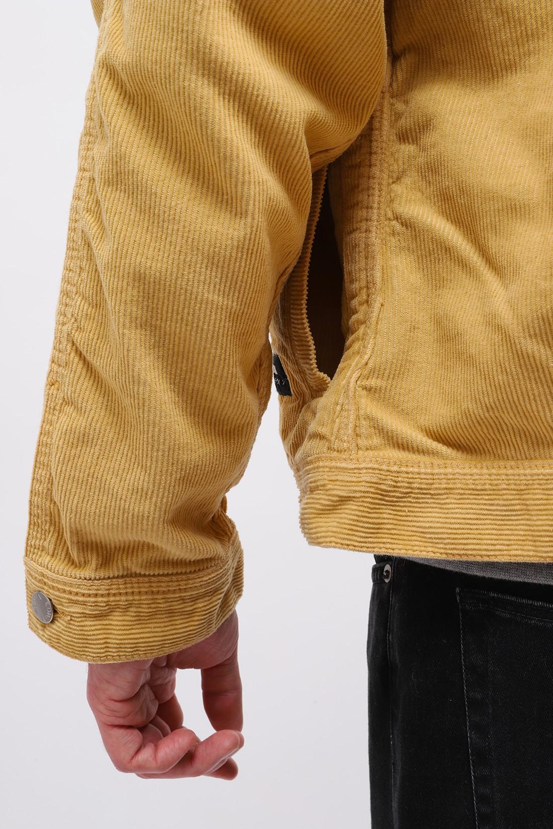 EDWIN / Sten zip jacket corduroy Curry