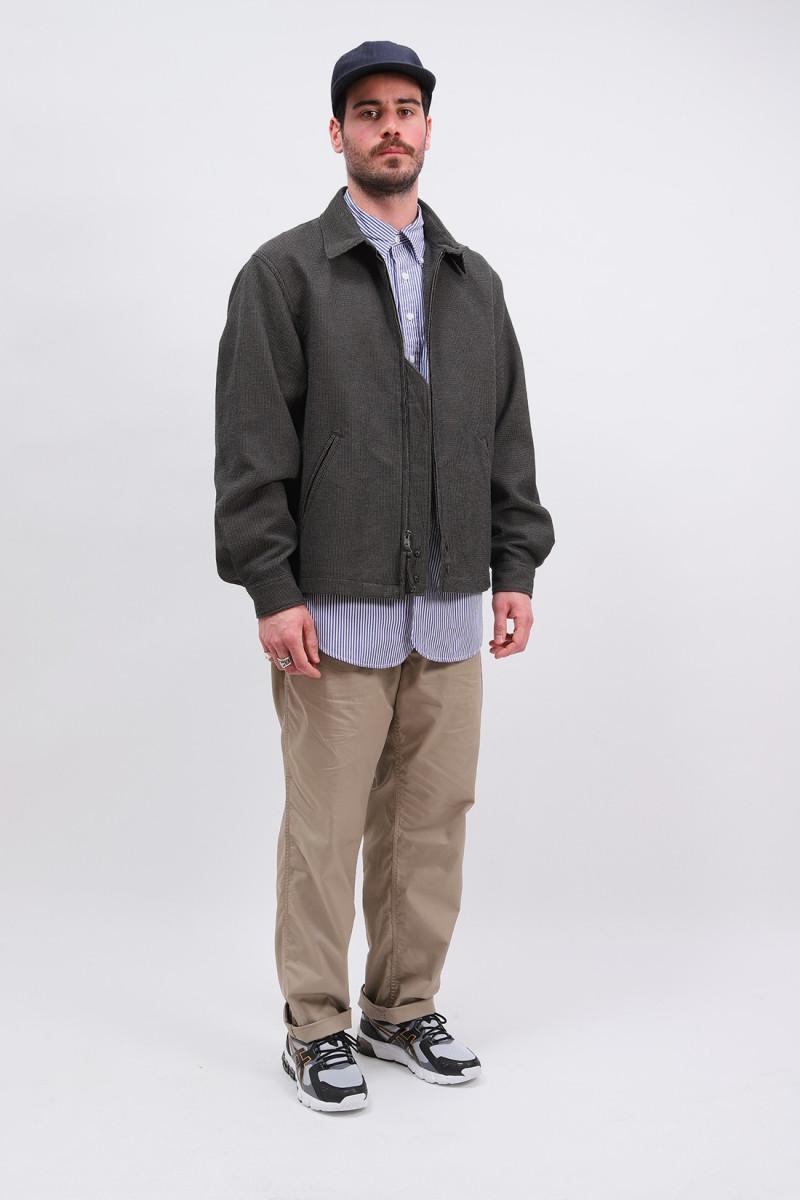 Claigton jacket cp waffle Dark brown