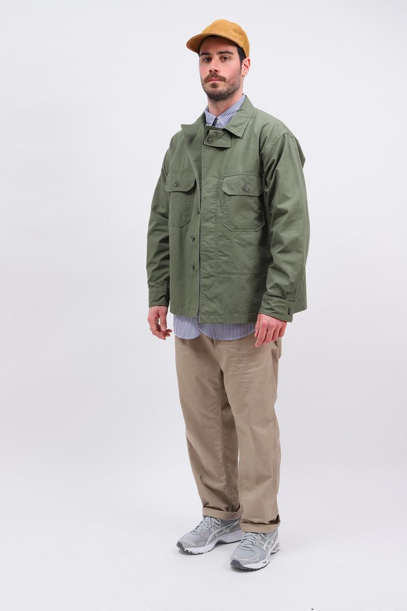 Mc shirt jacket ripstop Olive