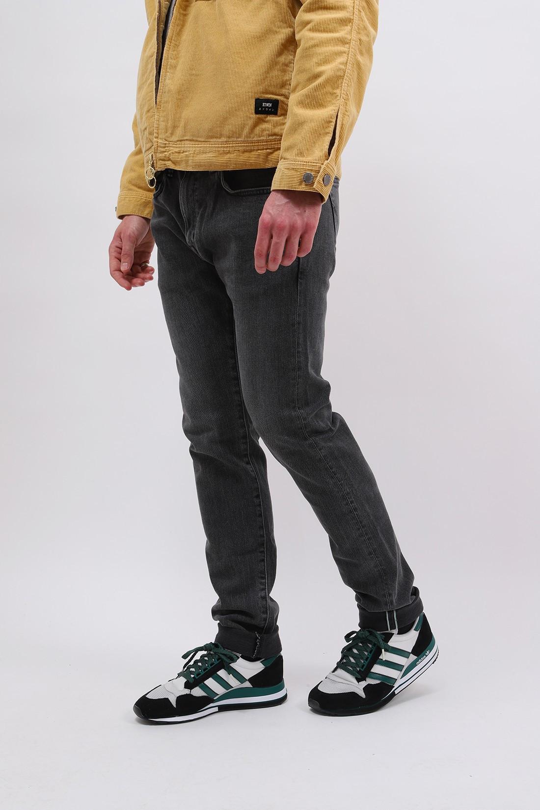 EDWIN / Slim tapered kaihara stretch Black gray used