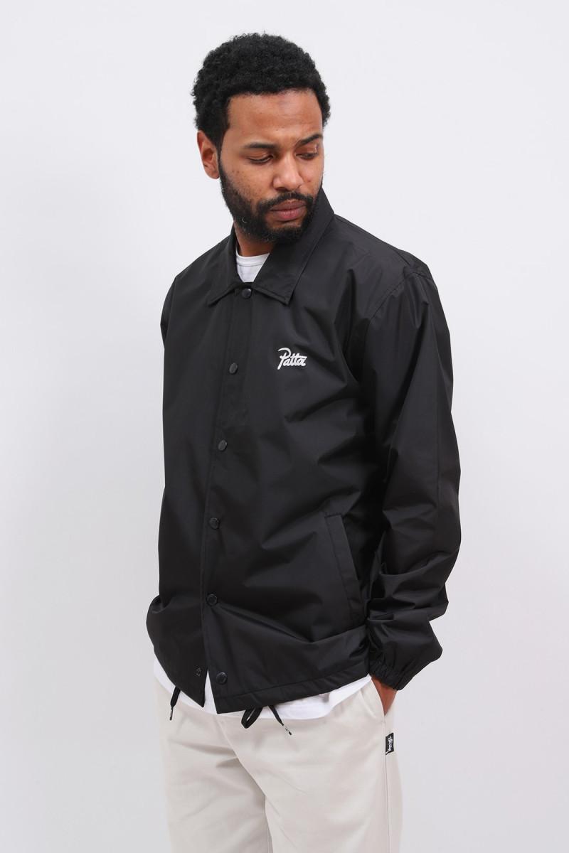 Patta basic coach jacket Black