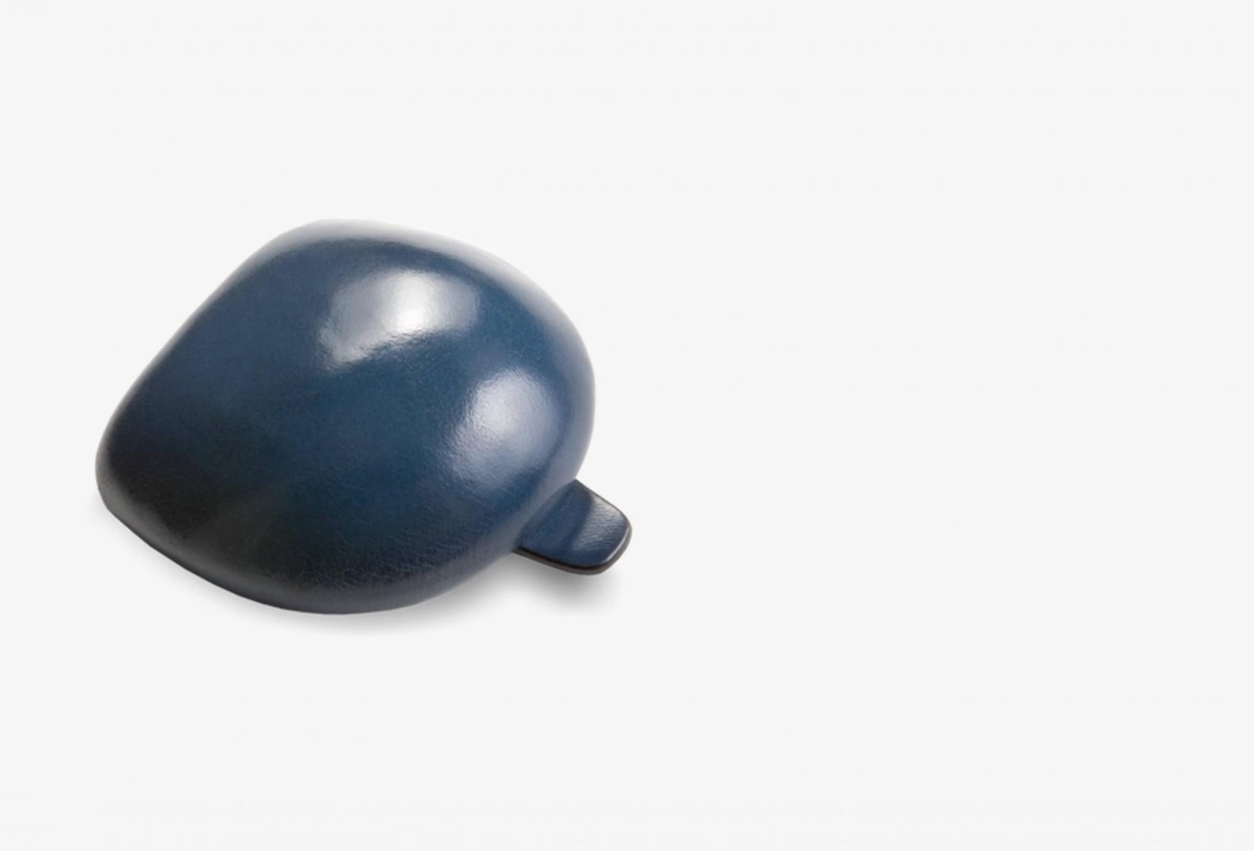 IL BUSSETTO / Coin case tacco Poseidon blue