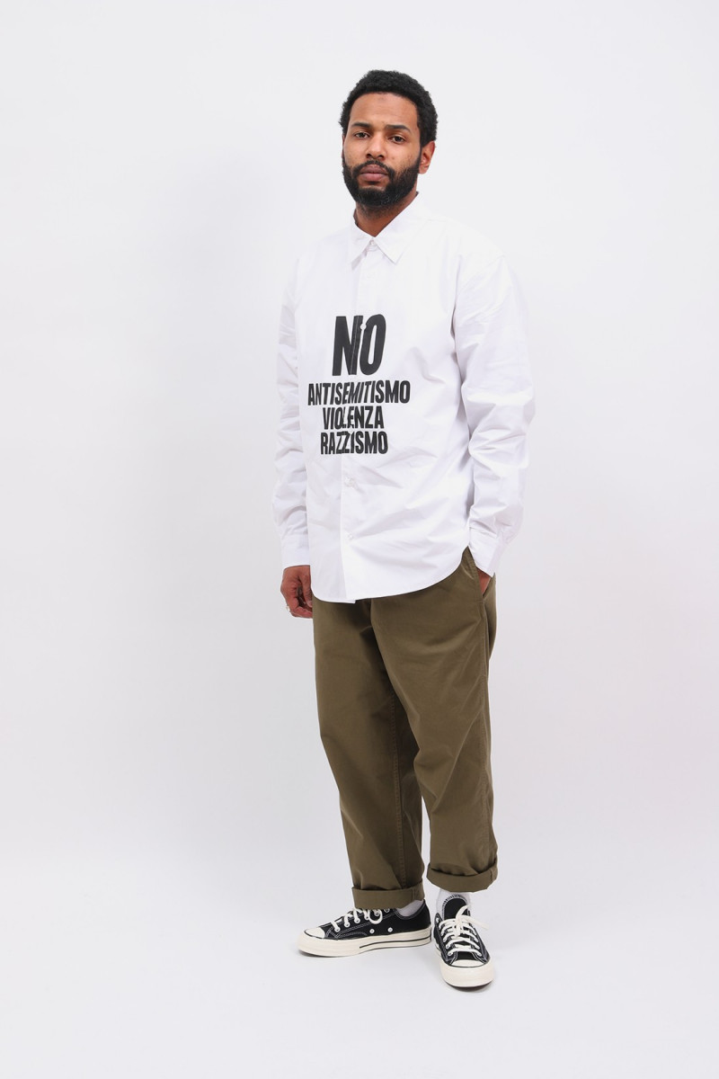 Patta no violenza shirt White