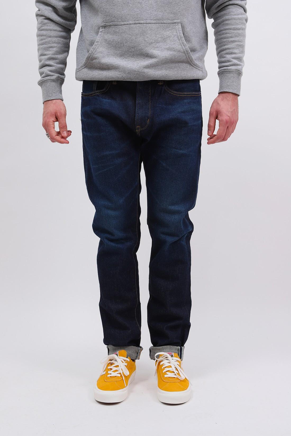 EDWIN / Slim tapered kaihara stretch Blue dark used