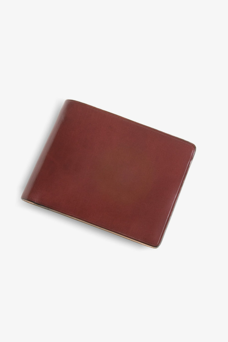 Bi-fold wallet w/ 8 card slots Bordeaux