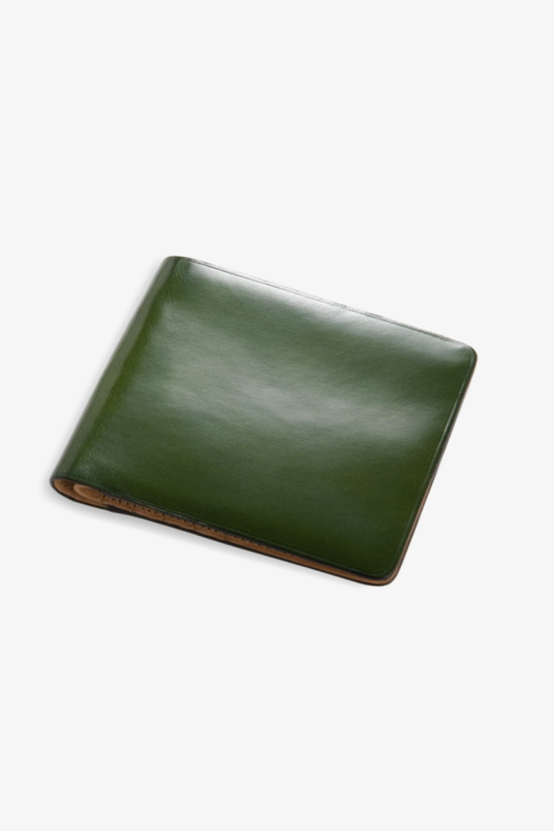 Bi-fold wallet w/ 8 card slots Forest green