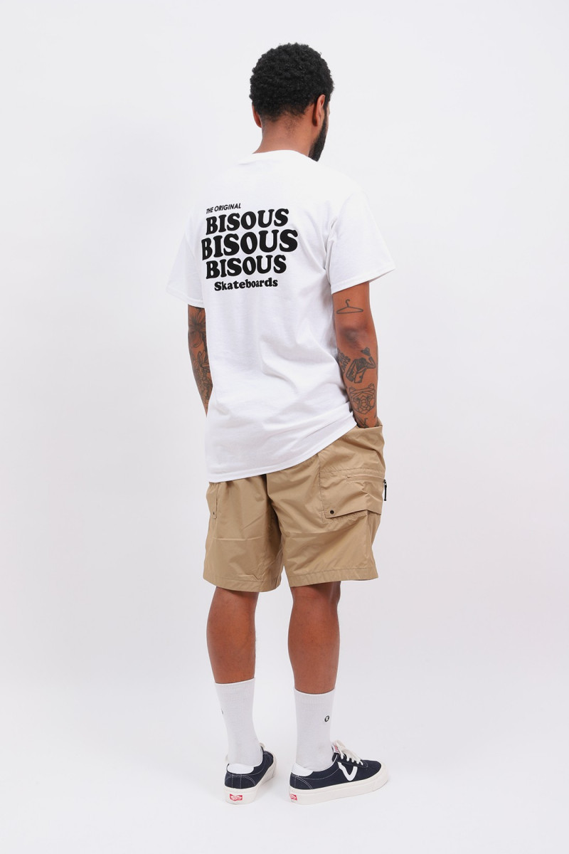 T shirt grease White