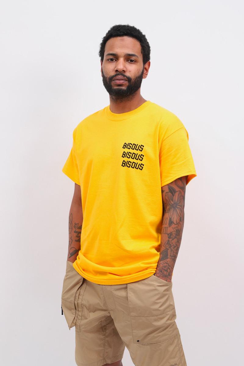 T shirt bisous x3 Gold