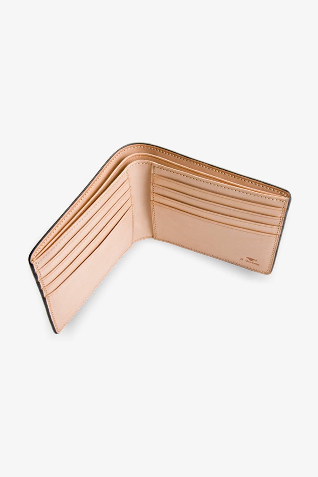 IL BUSSETTO / Bi-fold wallet w/ 8 card slots Forest green