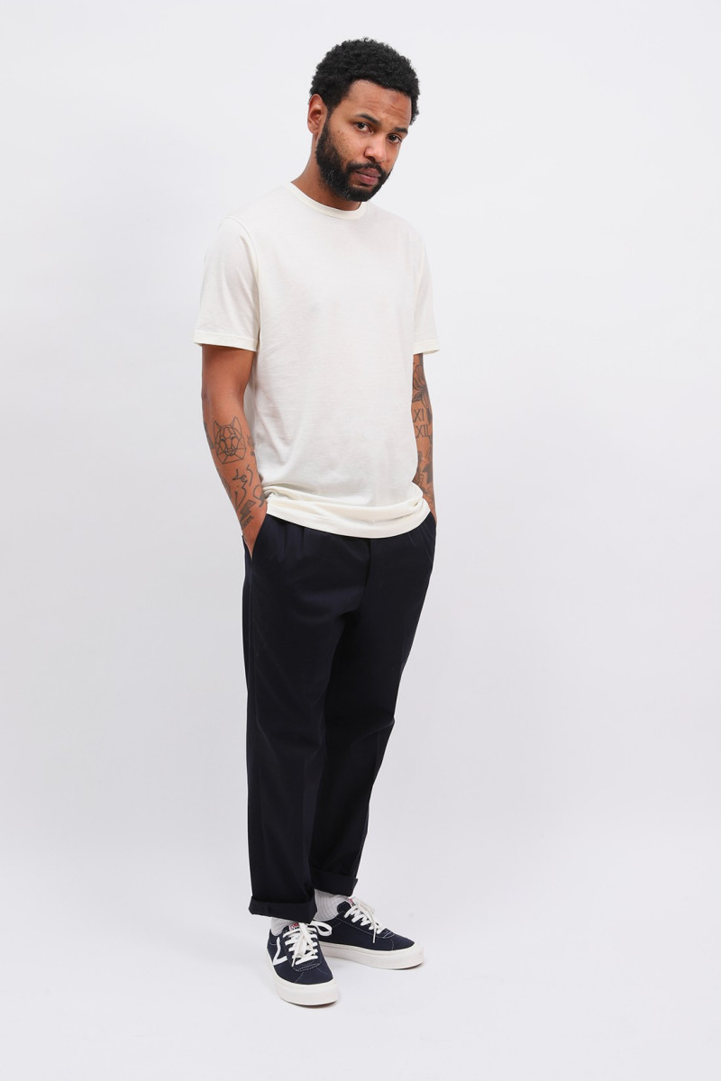 Ss crew neck t-shirt Archive white