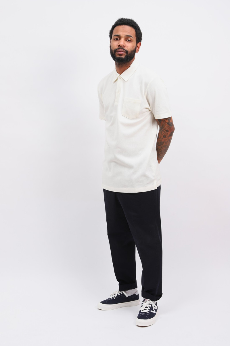 Ss riviera polo Archive white