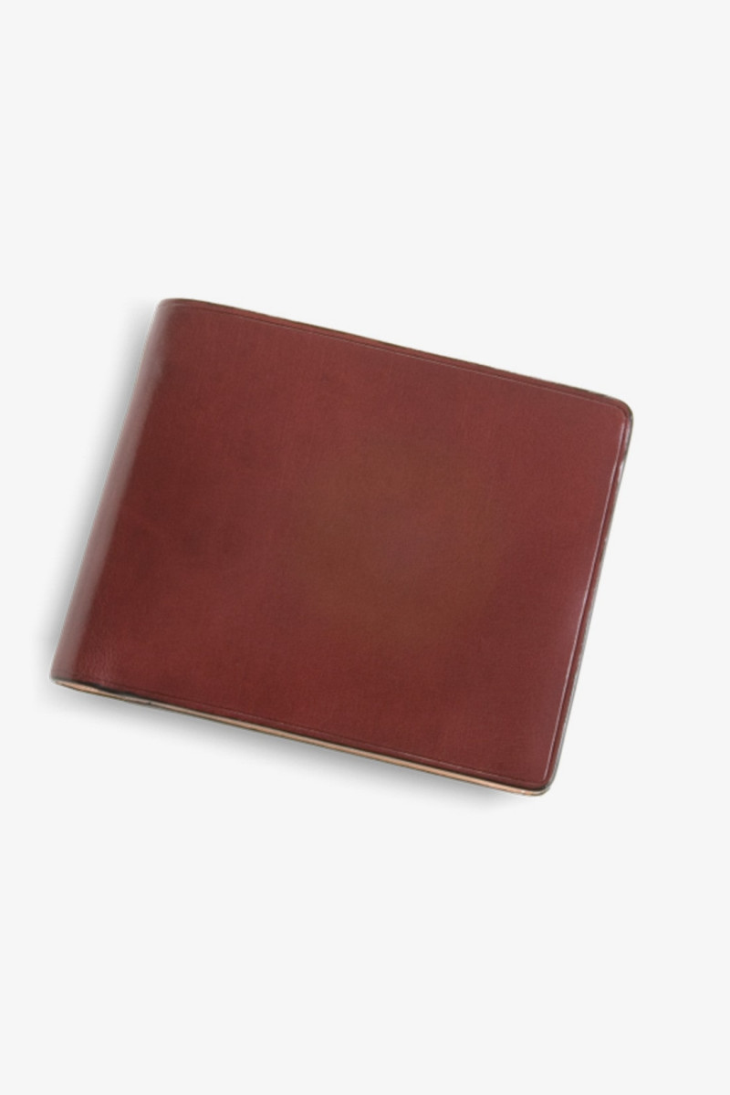 Bi-fold wallet w/ coin pocket Bordeaux