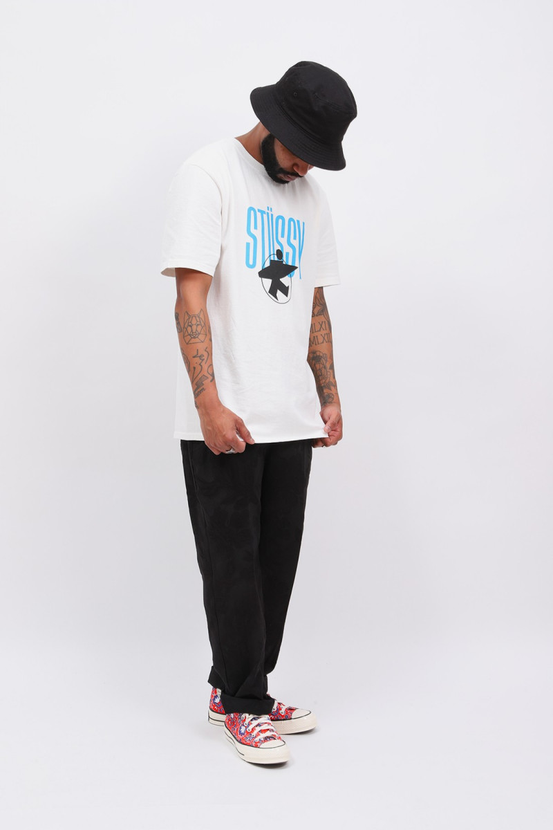 Stussy surfman pig. dyed tee Natural