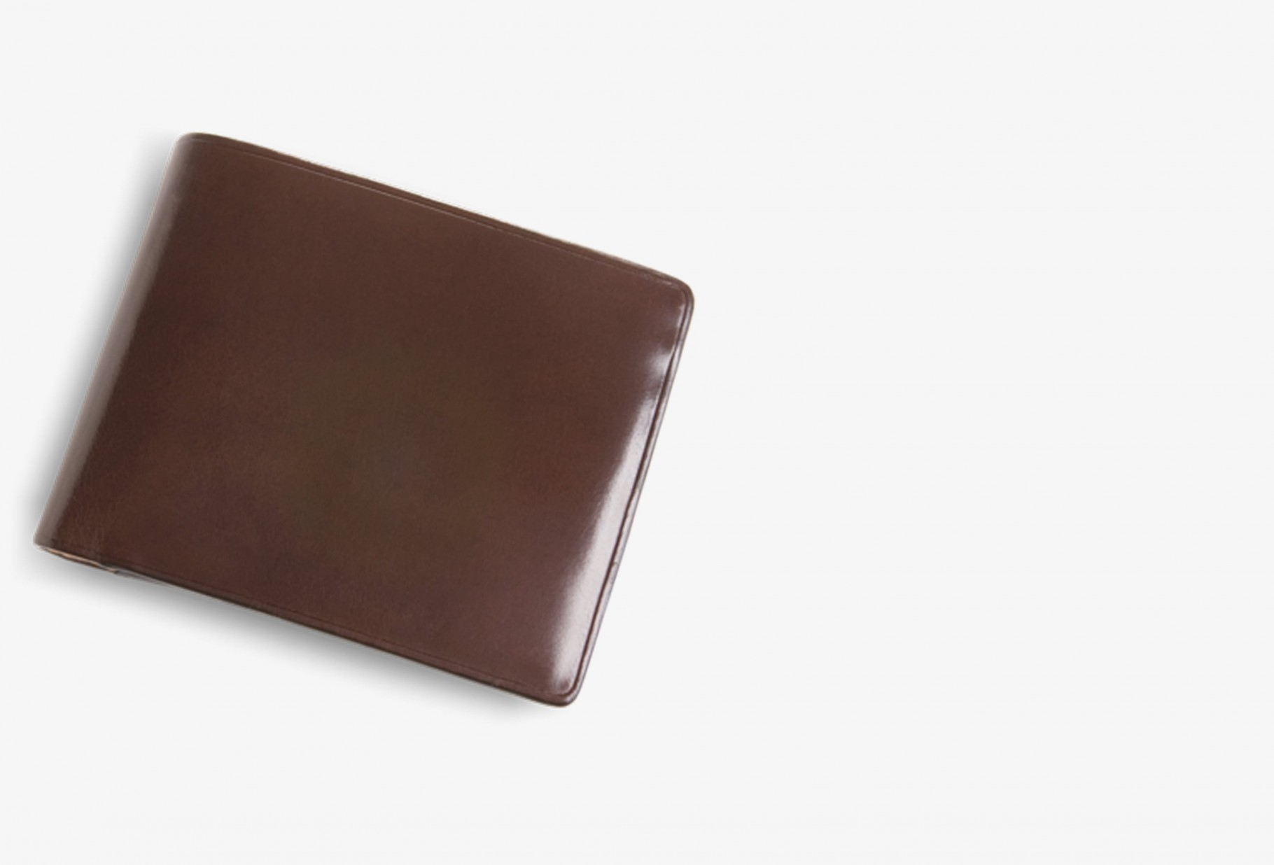 IL BUSSETTO / Bi fold wallet with coin Brown