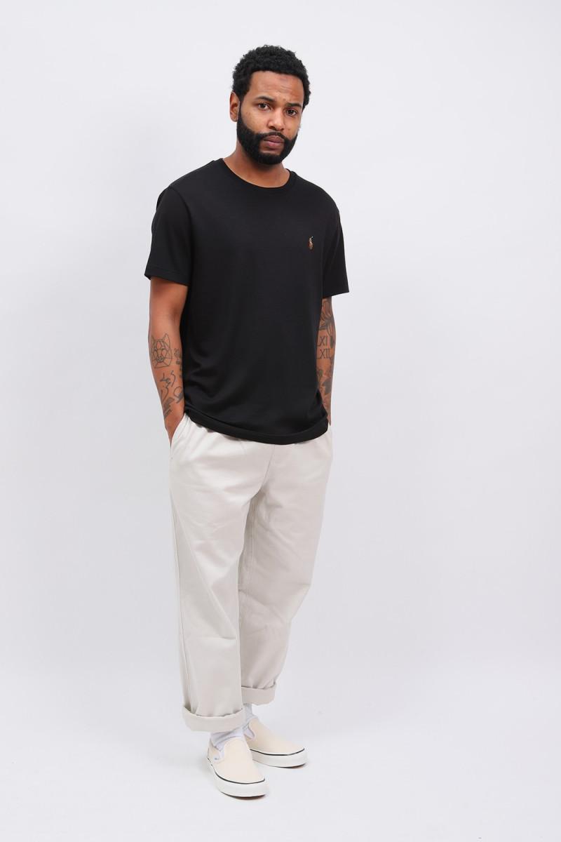 Custom slim fit tshirt Black