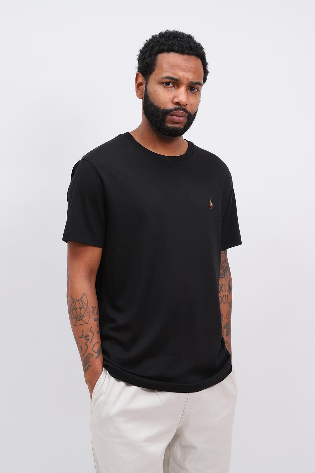 POLO RALPH LAUREN / Custom slim fit tshirt Black