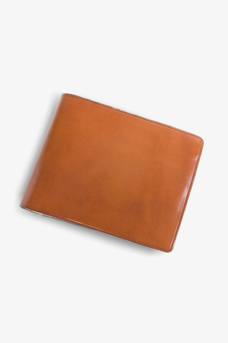 Bi fold wallet with coin Vintage brown