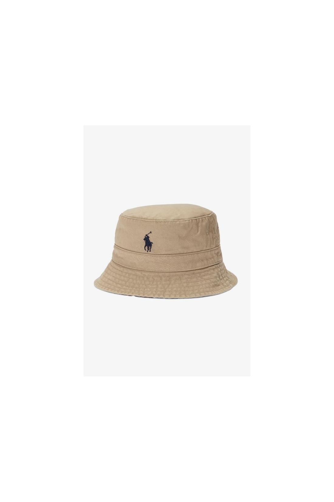POLO RALPH LAUREN / Loft bucket hat reversible Mutli/tan