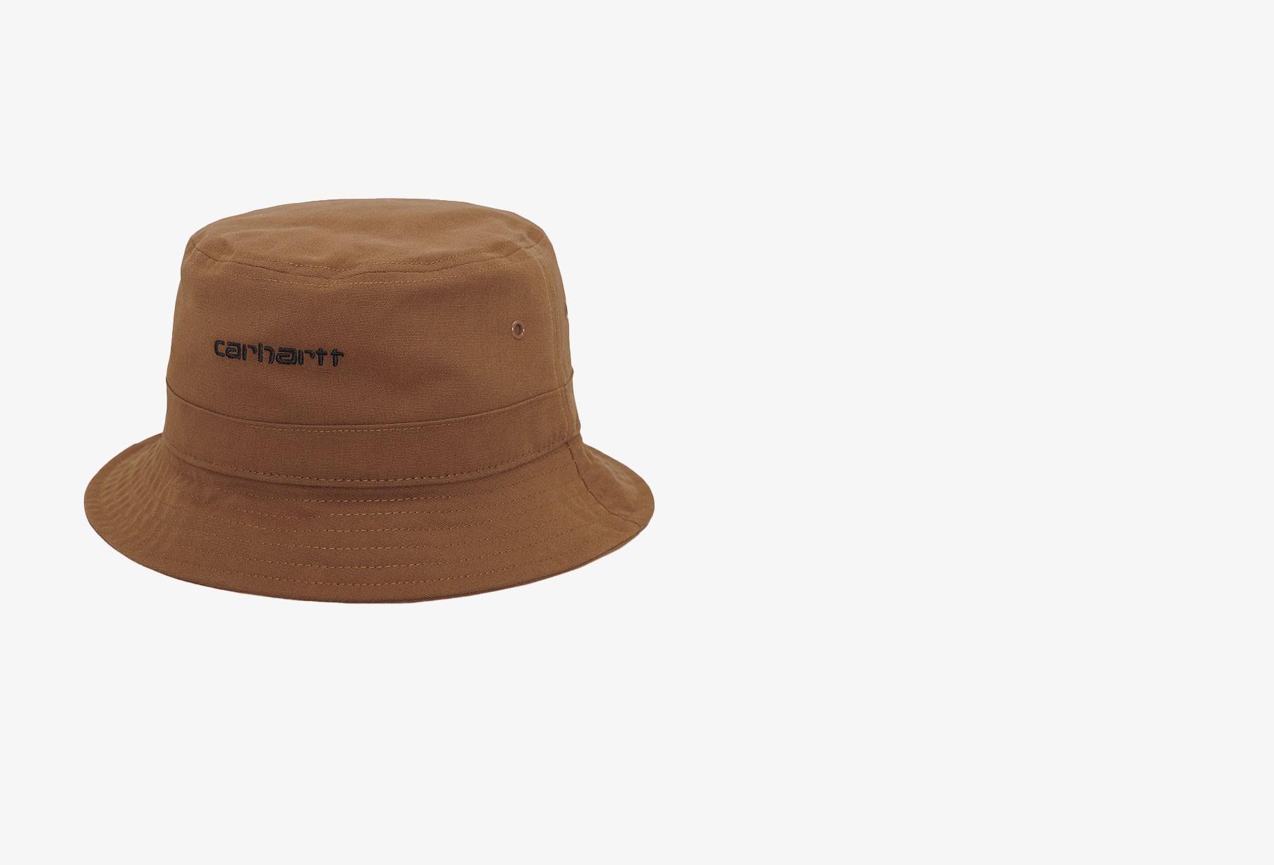 CARHARTT WIP / Script bucket hat Rum
