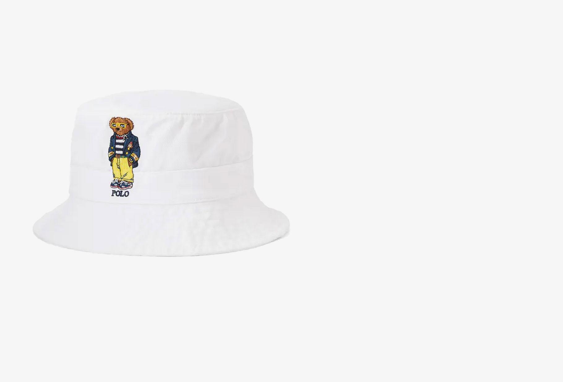 POLO RALPH LAUREN / Loft bucket hat polo bear White
