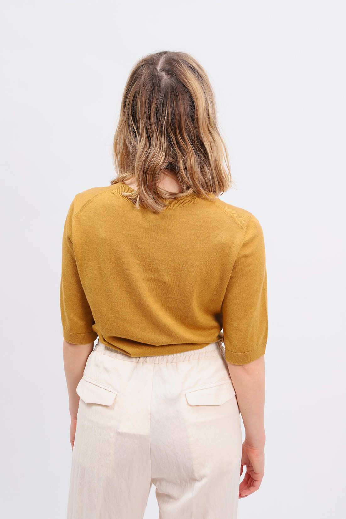 A.P.C. FOR WOMAN / Pull cleo Moutarde