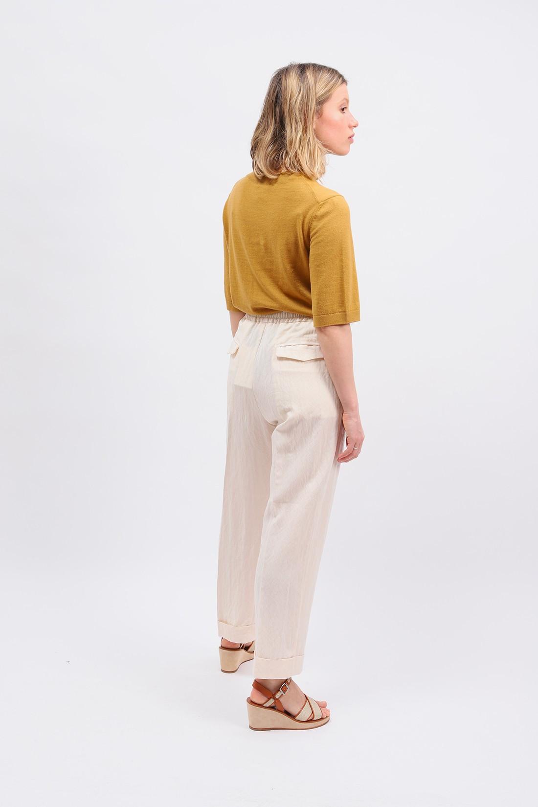 BARENA FOR WOMAN / Pantalone alfonso Avorio
