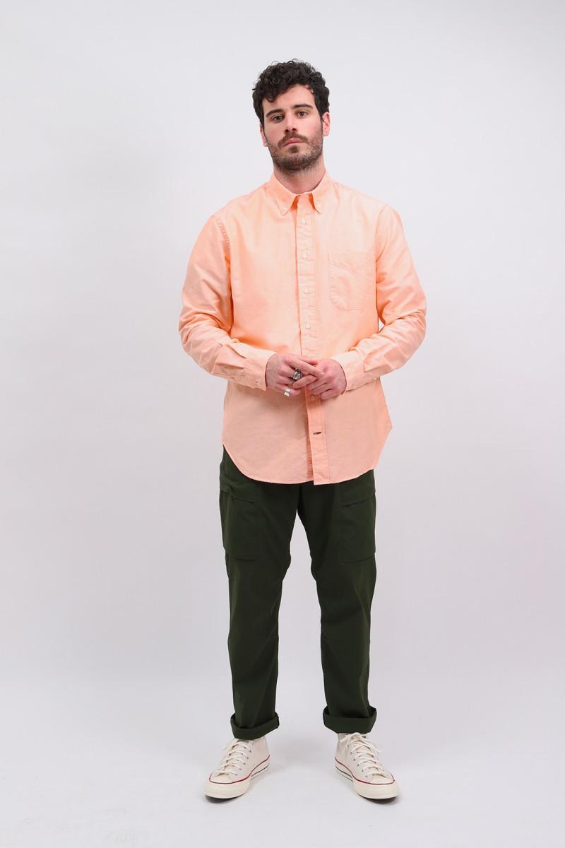 Classic oxford shirt Orange