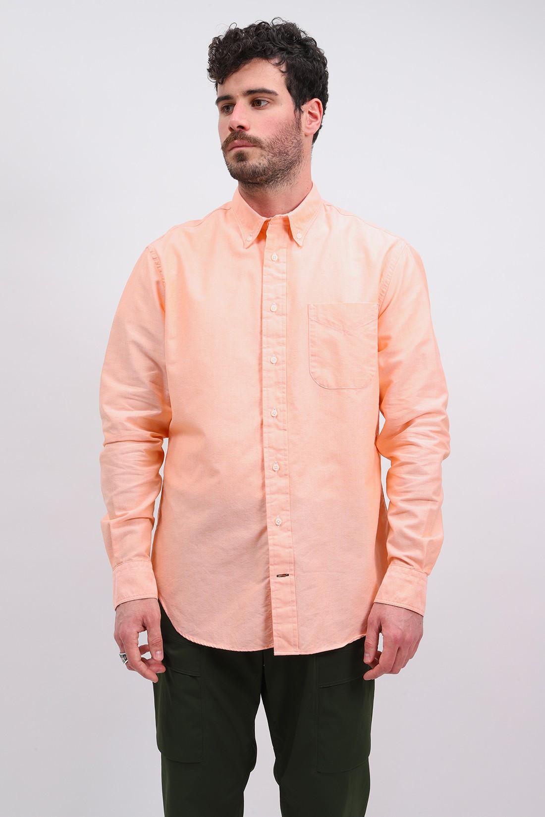 GITMAN / Classic oxford shirt Orange
