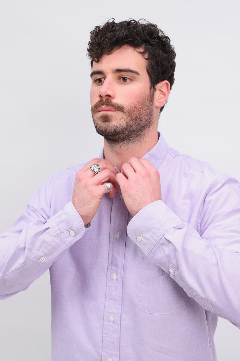 Classic oxford shirt Purple