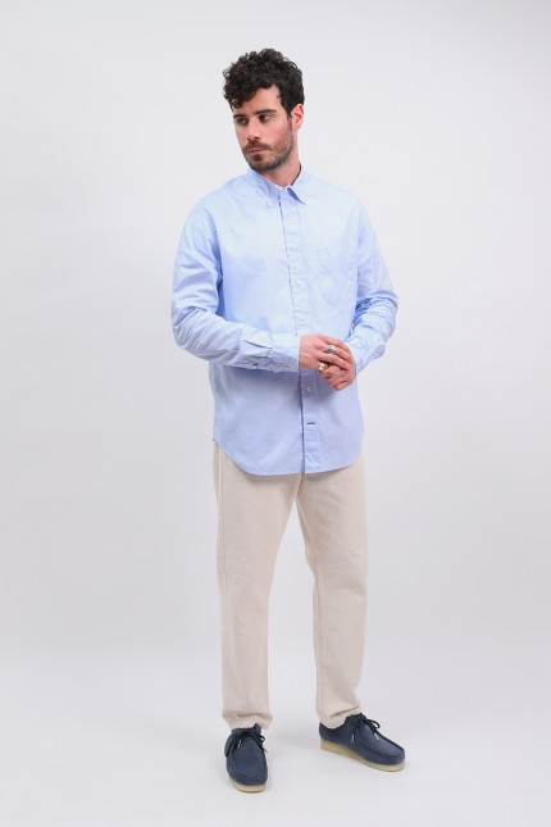 Classic lt zephyr oxford shirt Blue