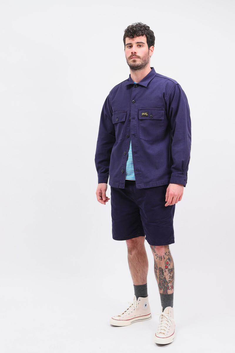 Cpo shirt Navy sateen