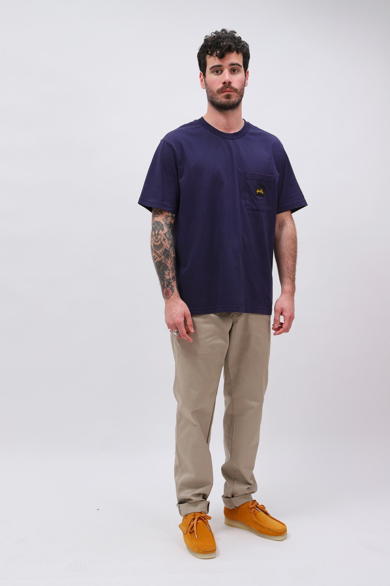 Ss patch pocket tee Navy
