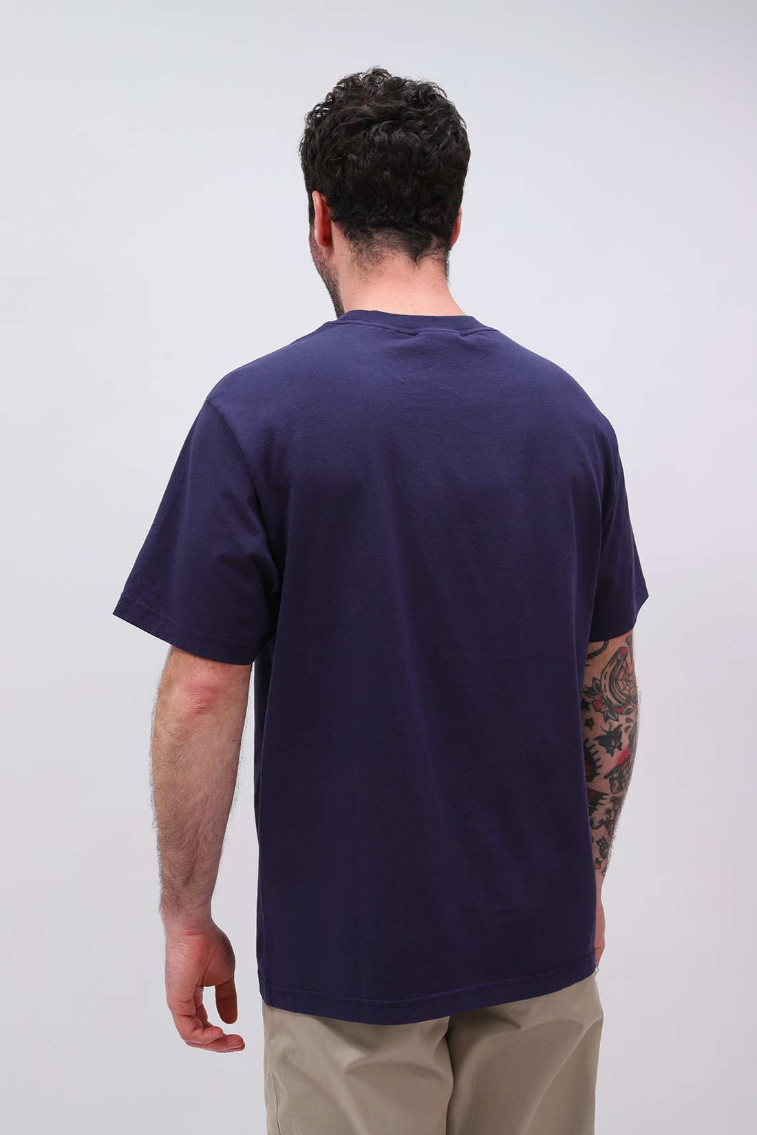STAN RAY / Ss patch pocket tee Navy
