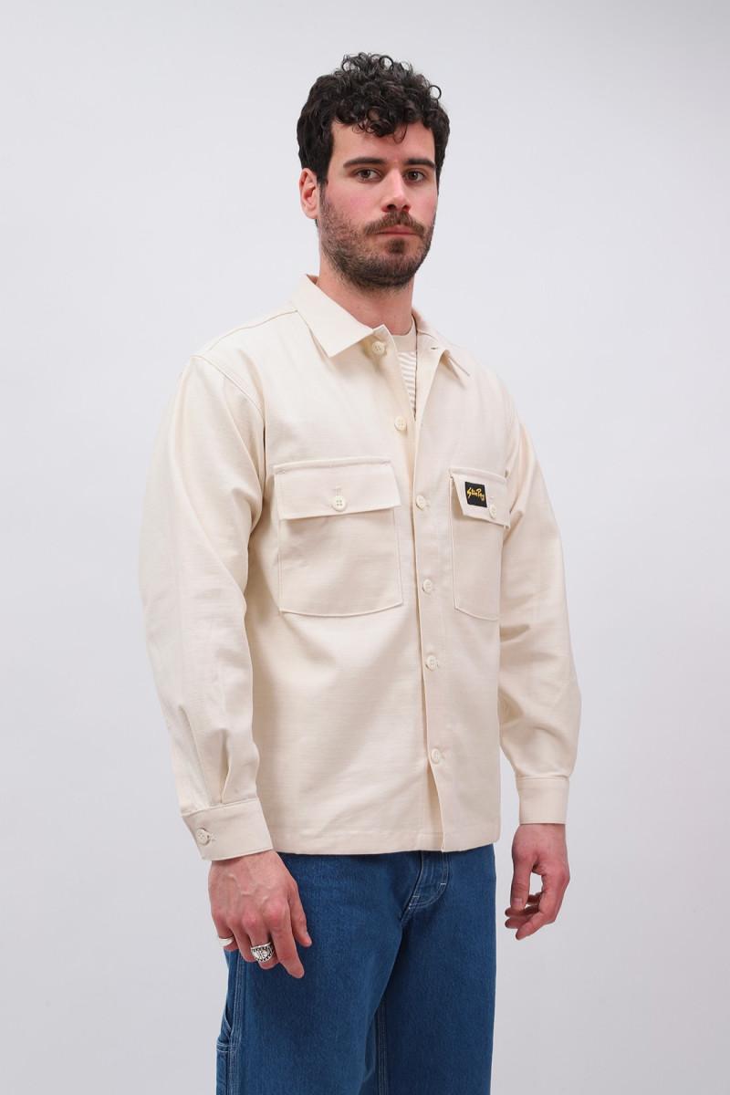Cpo shirt Natural sateen