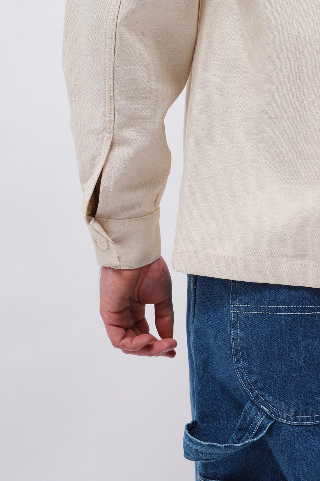 STAN RAY / Cpo shirt Natural sateen