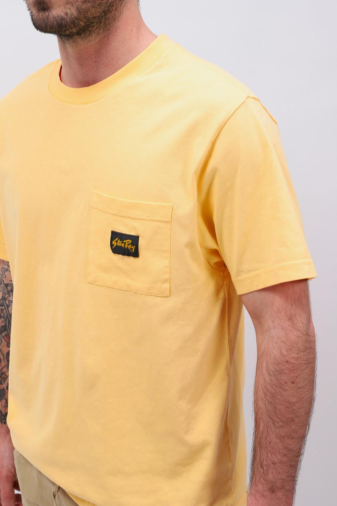 STAN RAY / Ss patch pocket tee Lemon